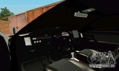 VAZ 21123 Turbo für GTA San Andreas Innenansicht