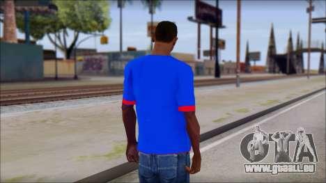 Superman T-Shirt v1 für GTA San Andreas zweiten Screenshot