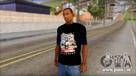 A7X Stars And Stripes T-Shirt pour GTA San Andreas
