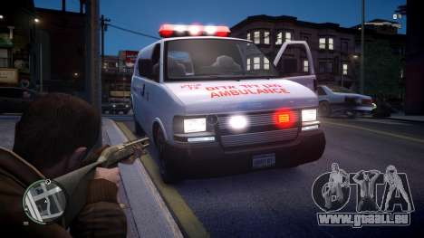 Israel MDA Ambulance für GTA 4 rechte Ansicht