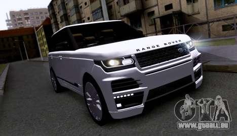 Land Rover Range Rover Startech für GTA San Andreas