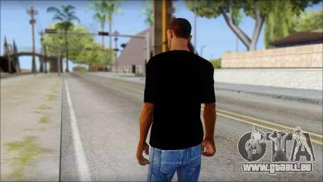 WWE Logo T-Shirt mod v2 für GTA San Andreas zweiten Screenshot