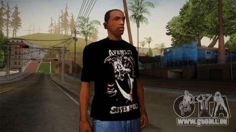 Avenged Sevenfold Reaper Reach T-Shirt für GTA San Andreas