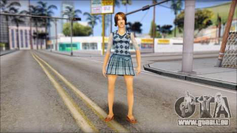 Pinky from Bully Scholarship Edition pour GTA San Andreas deuxième écran
