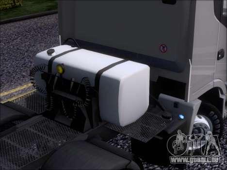 Iveco Stralis HiWay 560 E6 8x4 pour GTA San Andreas vue de dessous