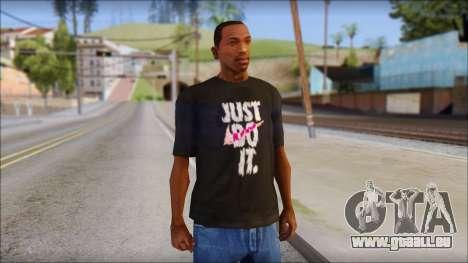 Just Do It NIKE Shirt für GTA San Andreas