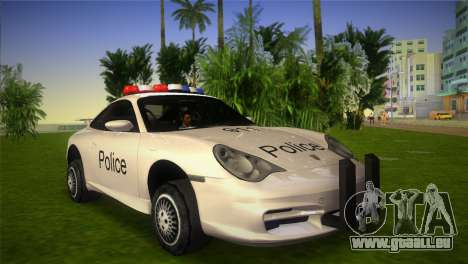 Porsche 911 GT3 Police pour GTA Vice City
