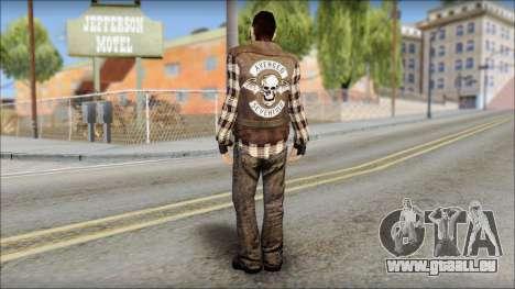 Biker from Avenged Sevenfold pour GTA San Andreas deuxième écran