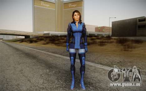 Ashley from Mass Effect 3 pour GTA San Andreas