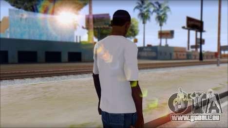 Adio T-Shirt für GTA San Andreas zweiten Screenshot