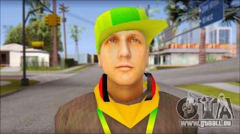 Urban DJ v3 pour GTA San Andreas troisième écran