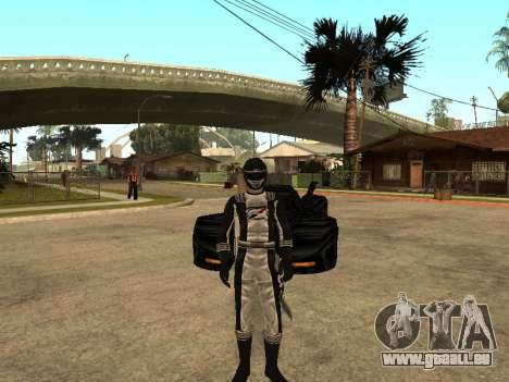 Power Rangers Operation Overdrive für GTA San Andreas fünften Screenshot
