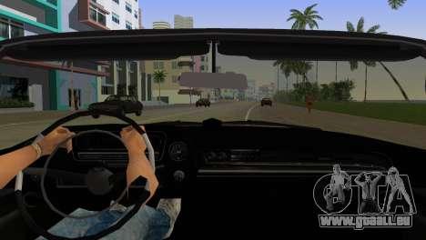 Cadillac Eldorado pour une vue GTA Vice City de l'intérieur