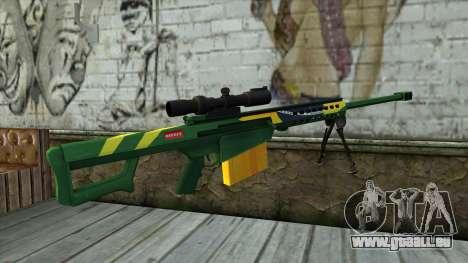 M82A3 Brazil Camo pour GTA San Andreas deuxième écran