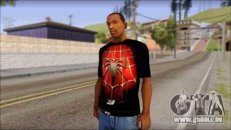 Spiderman 3 T-Shirt pour GTA San Andreas