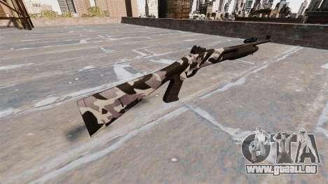 Ружье Benelli M3 Super 90 sibirien für GTA 4 Sekunden Bildschirm