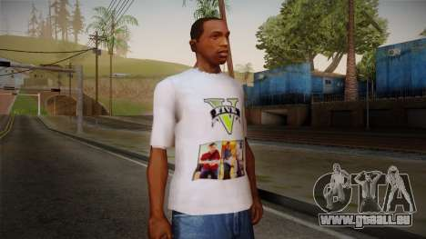 GTA 5 MFT T-Shirt pour GTA San Andreas