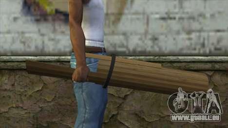 Senjata Kentongan Sahur pour GTA San Andreas troisième écran