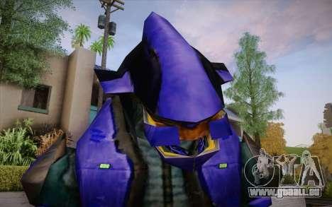 Blue Elite v2 pour GTA San Andreas troisième écran