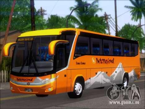 Marcopolo Viaggio 1050 G7 Buses Interregional pour GTA San Andreas laissé vue
