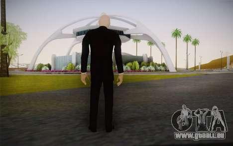 Slenderman pour GTA San Andreas deuxième écran