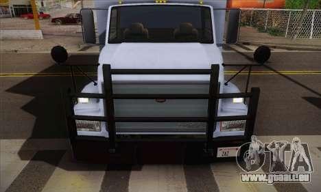 GTA V Benson pour GTA San Andreas sur la vue arrière gauche