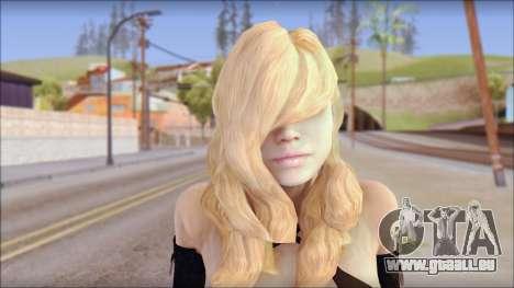 Rachel from Resident Evil Revelations pour GTA San Andreas troisième écran