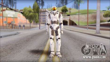 Masterchief White für GTA San Andreas