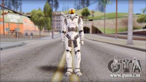 Masterchief White pour GTA San Andreas