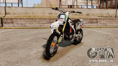 Yamaha YZF-450 v1.5 für GTA 4