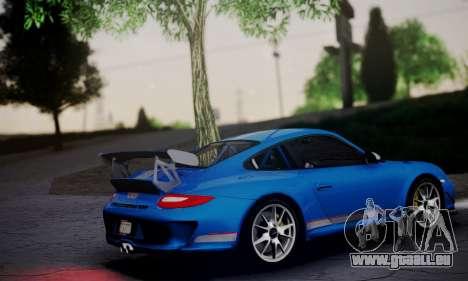 Porsche 911 GT3 RS4.0 2011 pour GTA San Andreas laissé vue