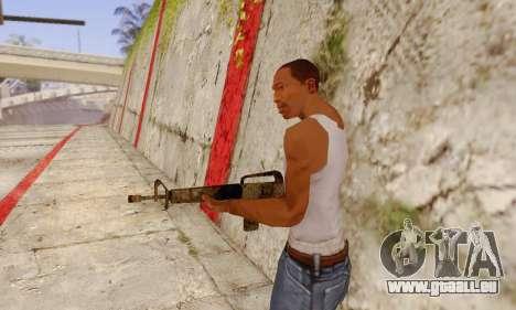 Cutscene M16 from Stowaway Conversion pour GTA San Andreas deuxième écran