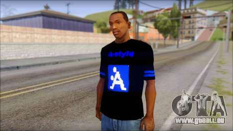 T-Shirt A-Style pour GTA San Andreas