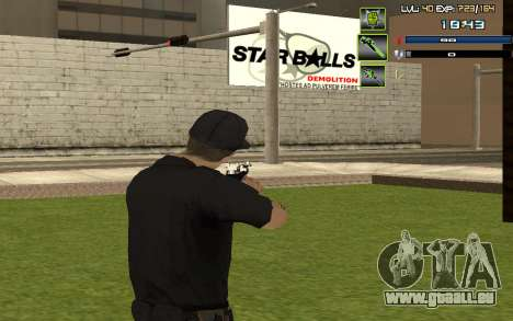C-HUD by SampHack v.5 für GTA San Andreas dritten Screenshot