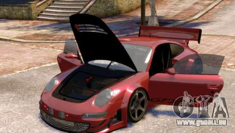 Porsche 911 GT3RSR pour GTA 4 est une vue de l'intérieur