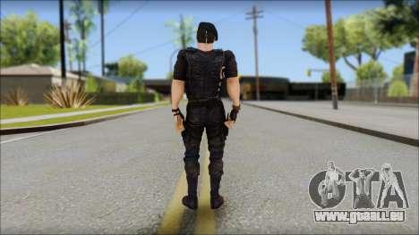 Barney Ross pour GTA San Andreas deuxième écran