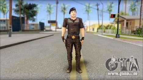 Barney Ross pour GTA San Andreas