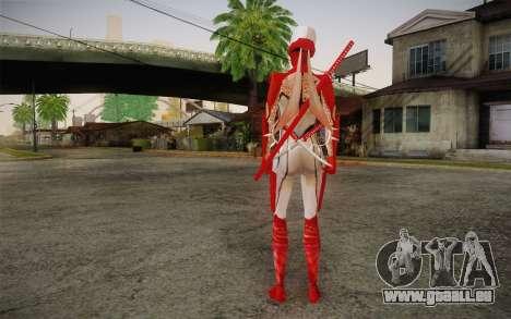 Hibana from Nigthshade of Shinobi für GTA San Andreas