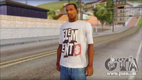 Element T-Shirt pour GTA San Andreas