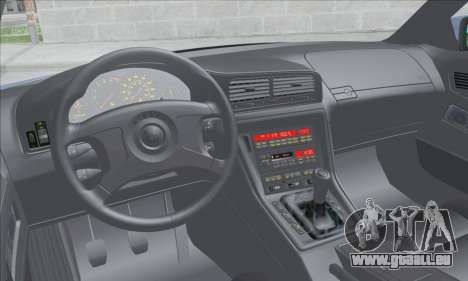 BMW E31 850CSi 1996 für GTA San Andreas Innenansicht