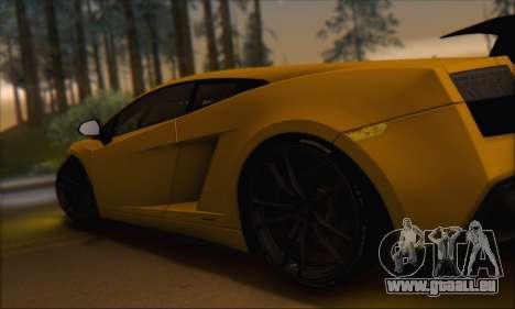 Lamborghini Gallardo LP570 Superleggera für GTA San Andreas Innen