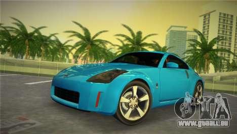 Nissan 350Z für GTA Vice City