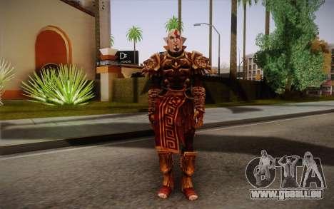 Kratos God Armor pour GTA San Andreas