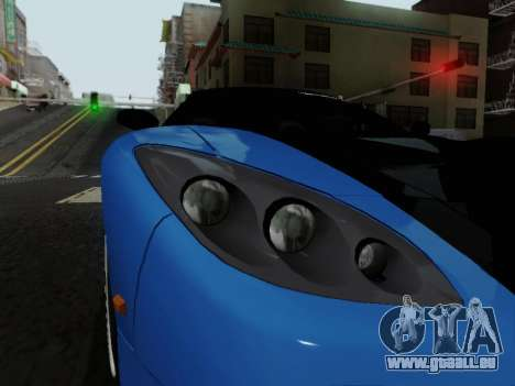 Honda NSX VeilSide für GTA San Andreas Rückansicht