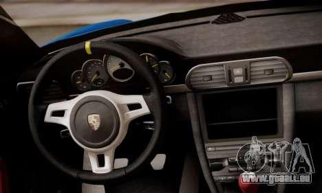 Porsche 911 GT3 RS4.0 2011 pour GTA San Andreas salon