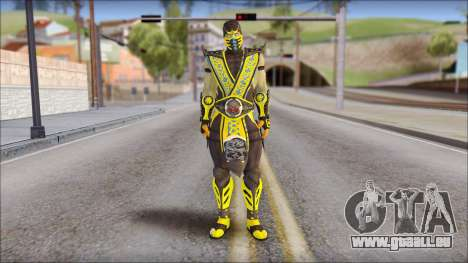 Scorpion Skin v2 pour GTA San Andreas