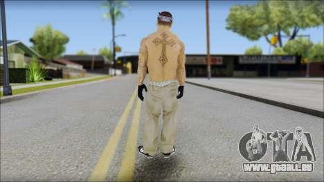 OG Chicano Skin pour GTA San Andreas deuxième écran