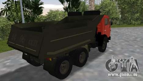 KamAZ 5511 pour une vue GTA Vice City de la gauche