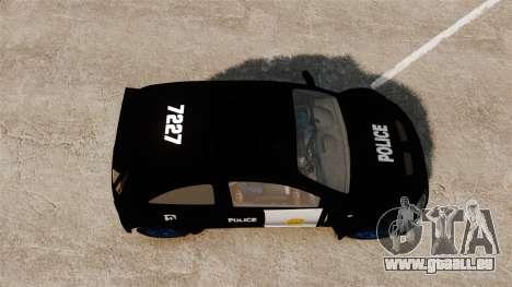Opel Corsa Police für GTA 4 rechte Ansicht