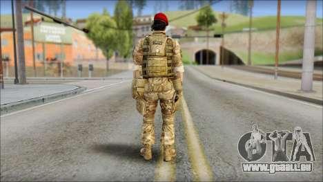 Desert Vlad GRU from Soldier Front 2 pour GTA San Andreas deuxième écran